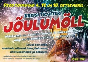 Kreisi Trahteri JÕULUMÖLL 4/11/18 DETSEMBRIL
